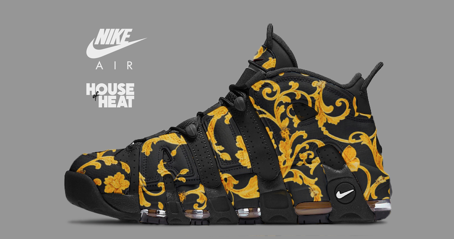 """The Concept Lab : Nike Air More Uptempo """"Versace"""""""