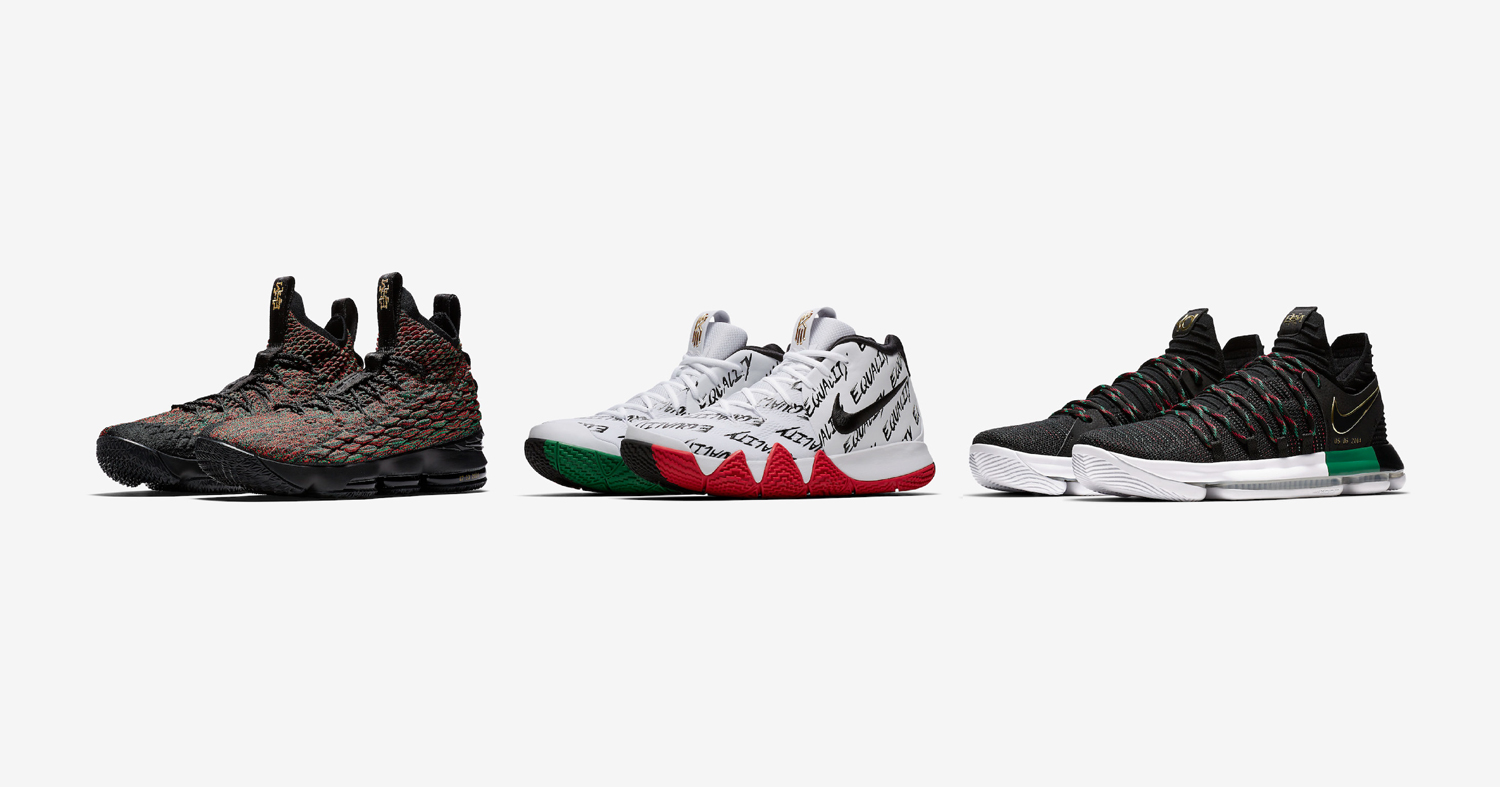Nike Basketball unveil their BHM collection