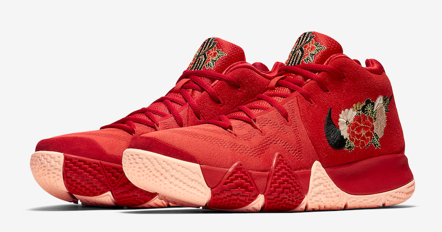 """Official images of the Kyrie 4 """"Chinese New Year"""" are here"""