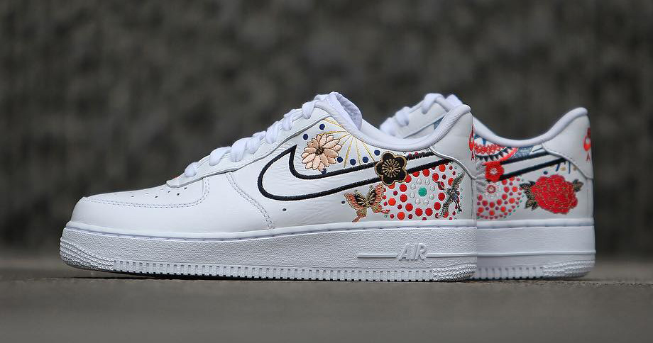 """A detailed look at the """"Lunar New Year"""" Air Force 1 pack"""
