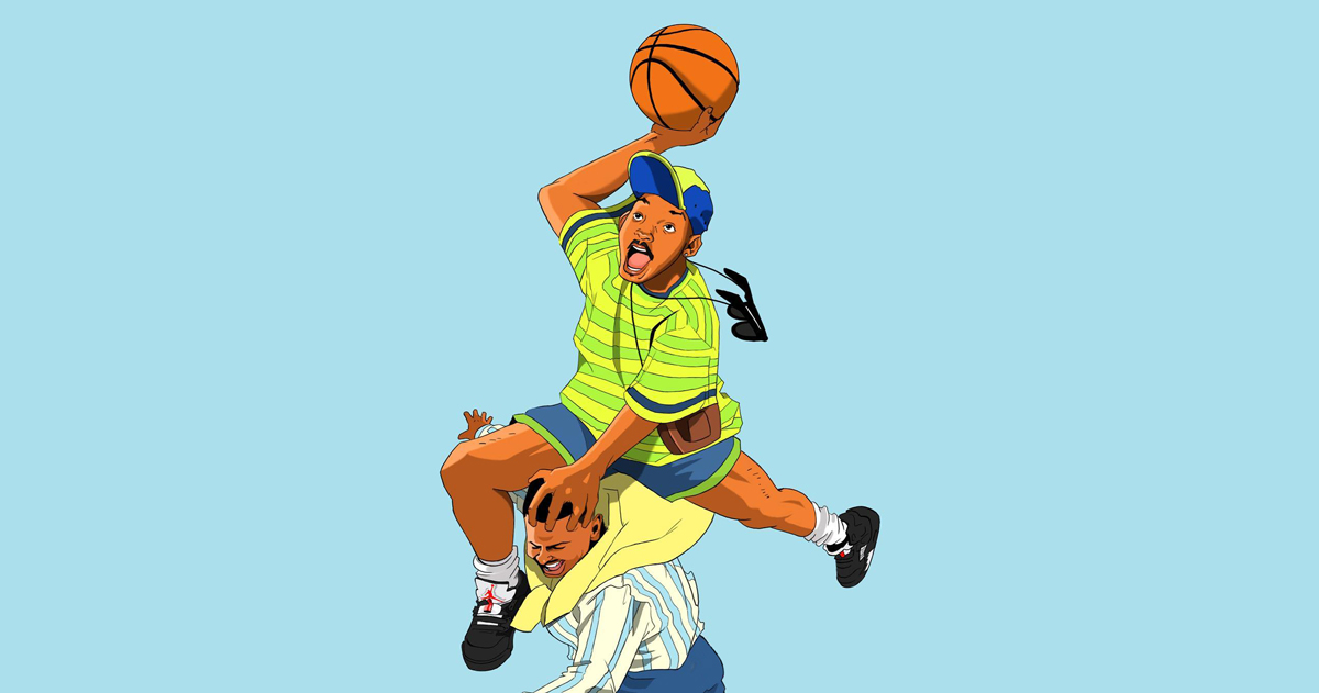 The Best Jordan Moments from Fresh Prince of Bel-Air