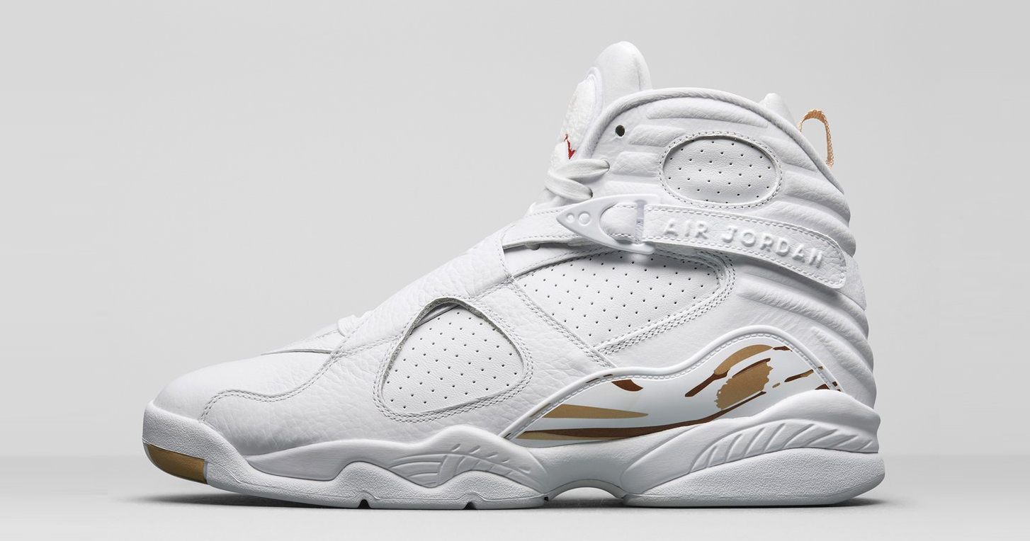 Official images of the White OVO Air Jordan 8