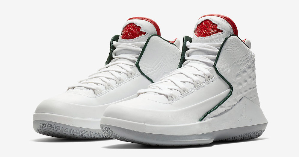 This luxe offering goes back to the Italian roots of the Air Jordan 2