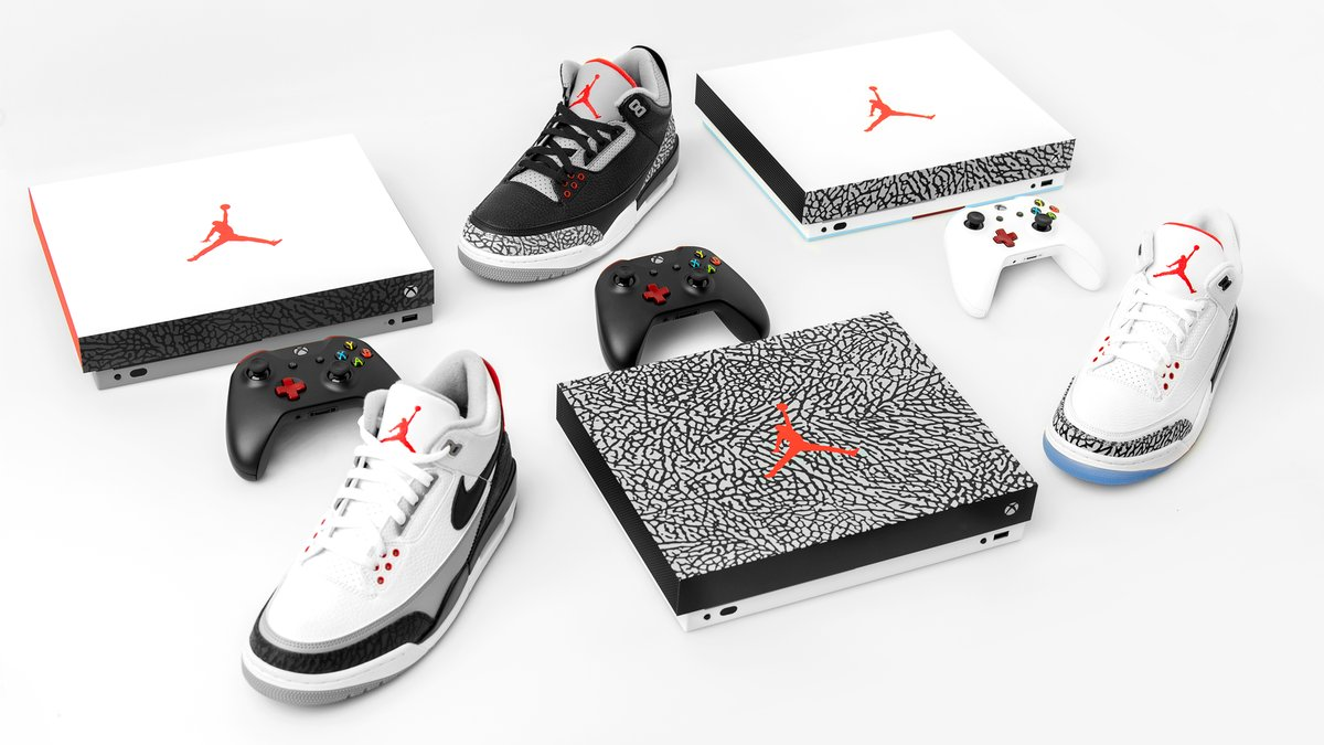 You can win one of these Jordan-inspired Xbox consoles
