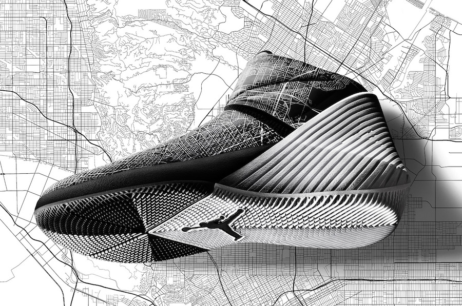 """A closer look at Russell's """"City of Flight"""" All-Star sneaker"""