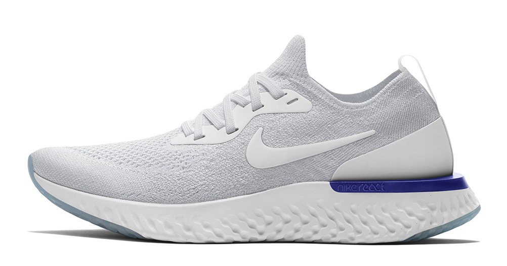 The Nike Epic React Flyknit to release in three public-friendly colors