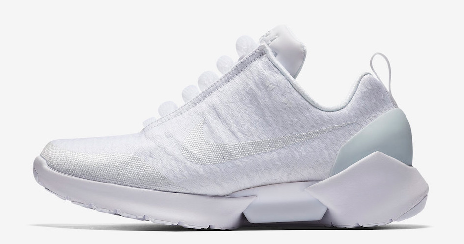 Nike's self-lacing sneaker gets iced