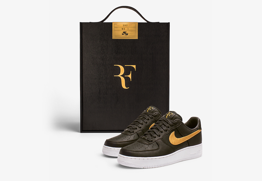 Special edition Air Force 1's for the tennis GOAT