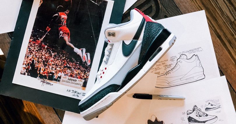 30 years on, Tinker speaks about the Air Jordan 3