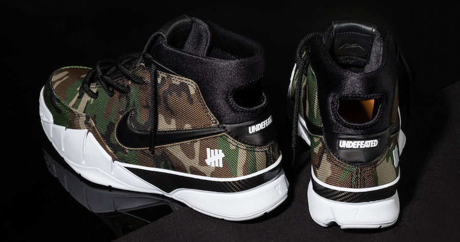 """Here's how you can score the """"Camo"""" Undefeated x Nike Zoom Kobe 1"""