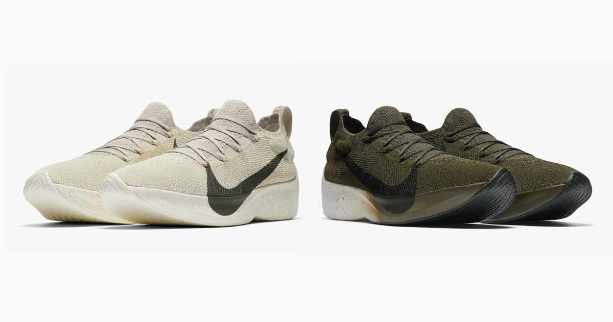 Two Spring colorways for the Vapor Street Fyknit