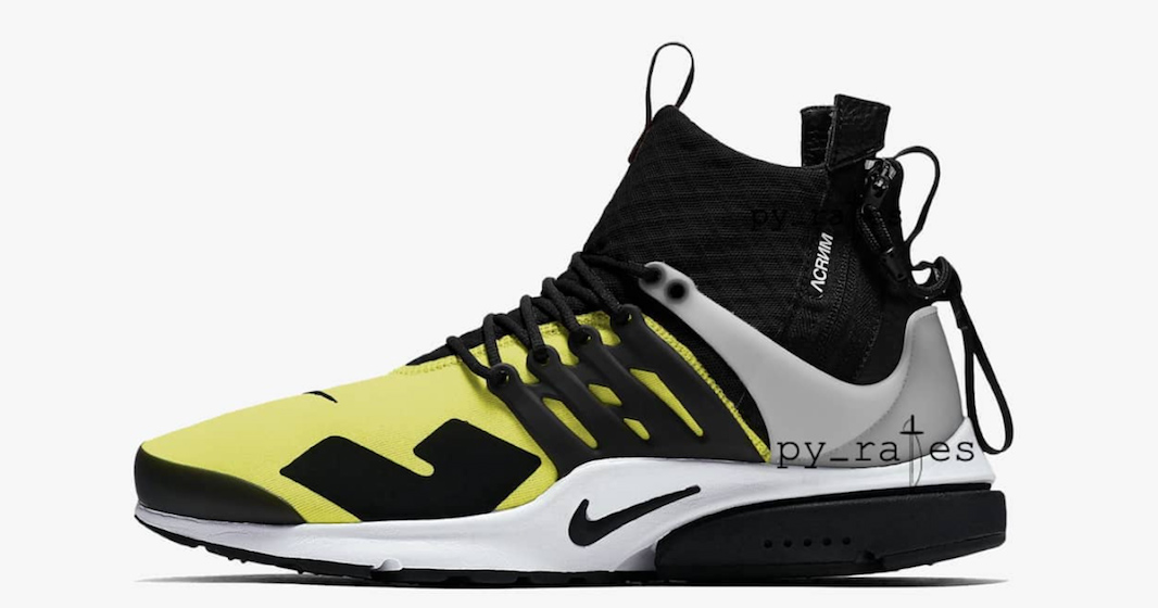 Acronym stay mellow with Dynamic Yellow