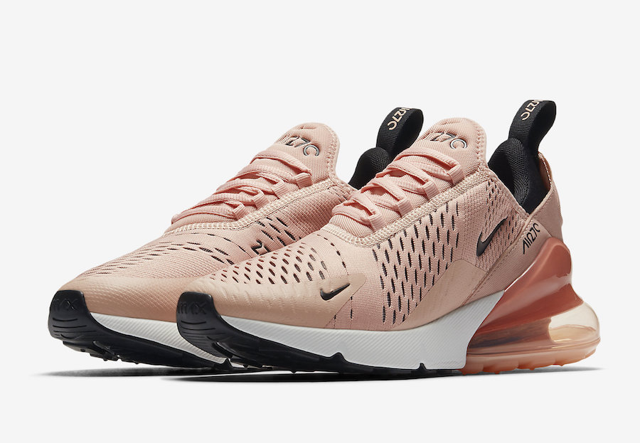 """Official images // Air Max 270 """"Coral Stardust"""""""