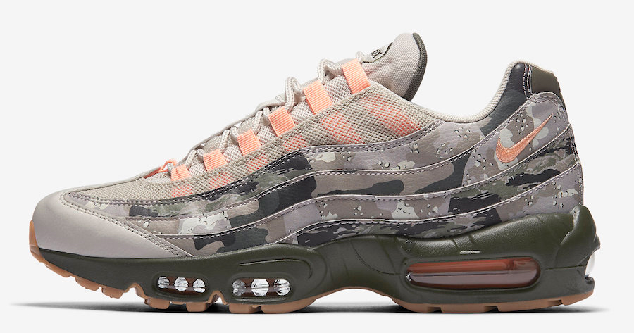 The Air Max 95 never looked so good (if you can see it)