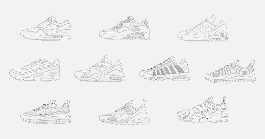 Nike are asking you to design 10 iconic Air Max's