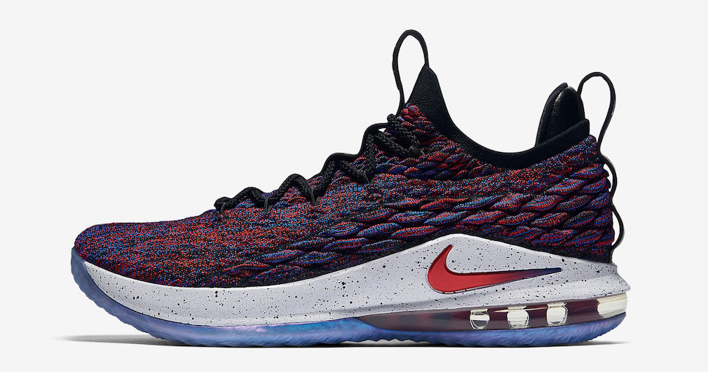 The LeBron 15 Low is available now