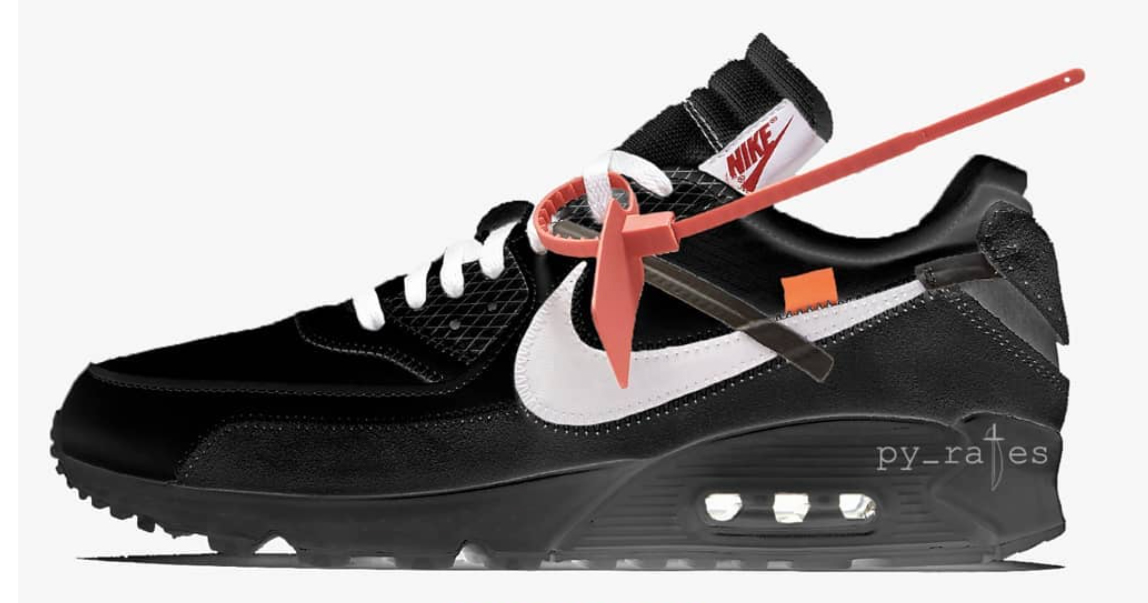 Off-White's AM90 is Back in Black