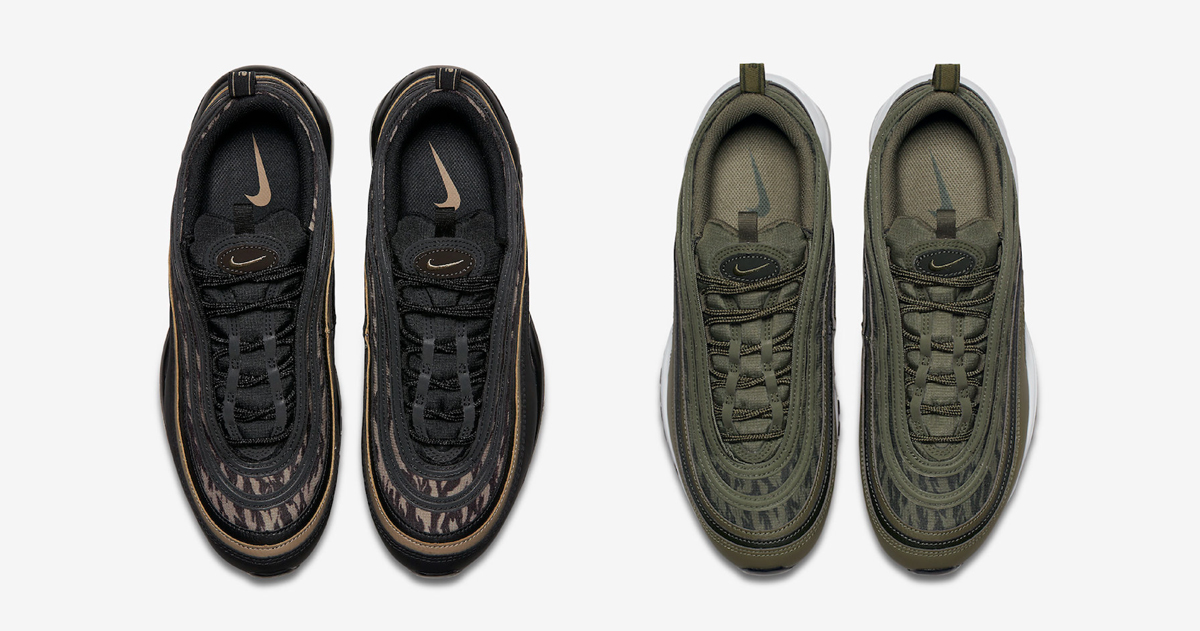 The Air Max 97 has earned it's stripes