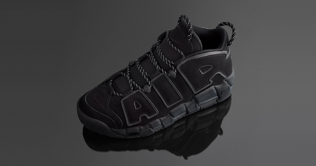 """The Nike More Uptempo """"Triple Black"""" has grown up"""