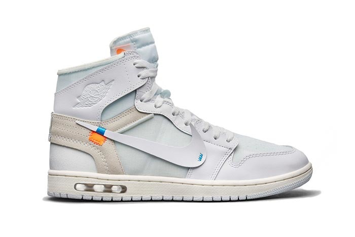 The Off-White Air Jordan 1 could have had an Air Bubble
