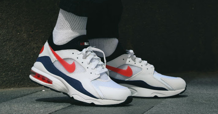 """On foot look // OG Air Max 93 """"Flame Red"""""""