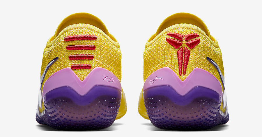 This Lakers colorway is NXT for the Kobe 360