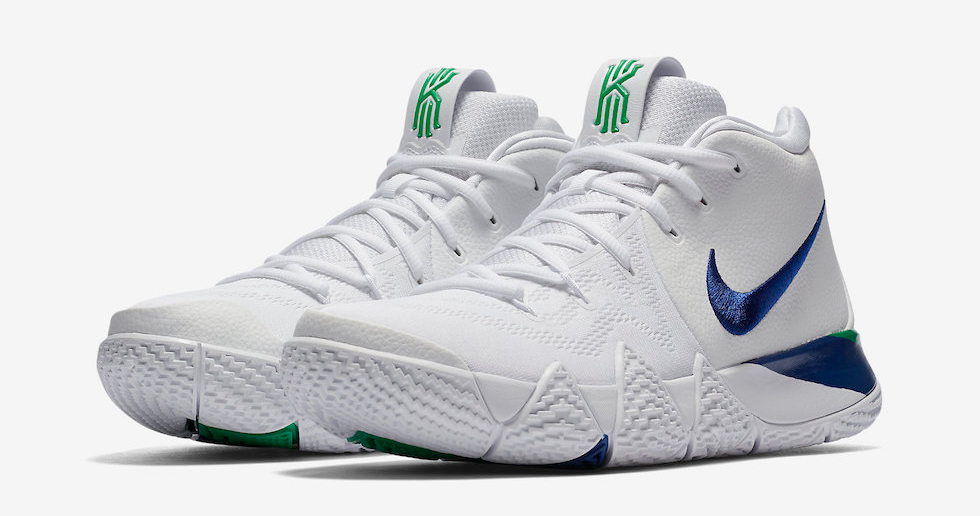 This Nike Kyrie 4 is made for Mavericks fans