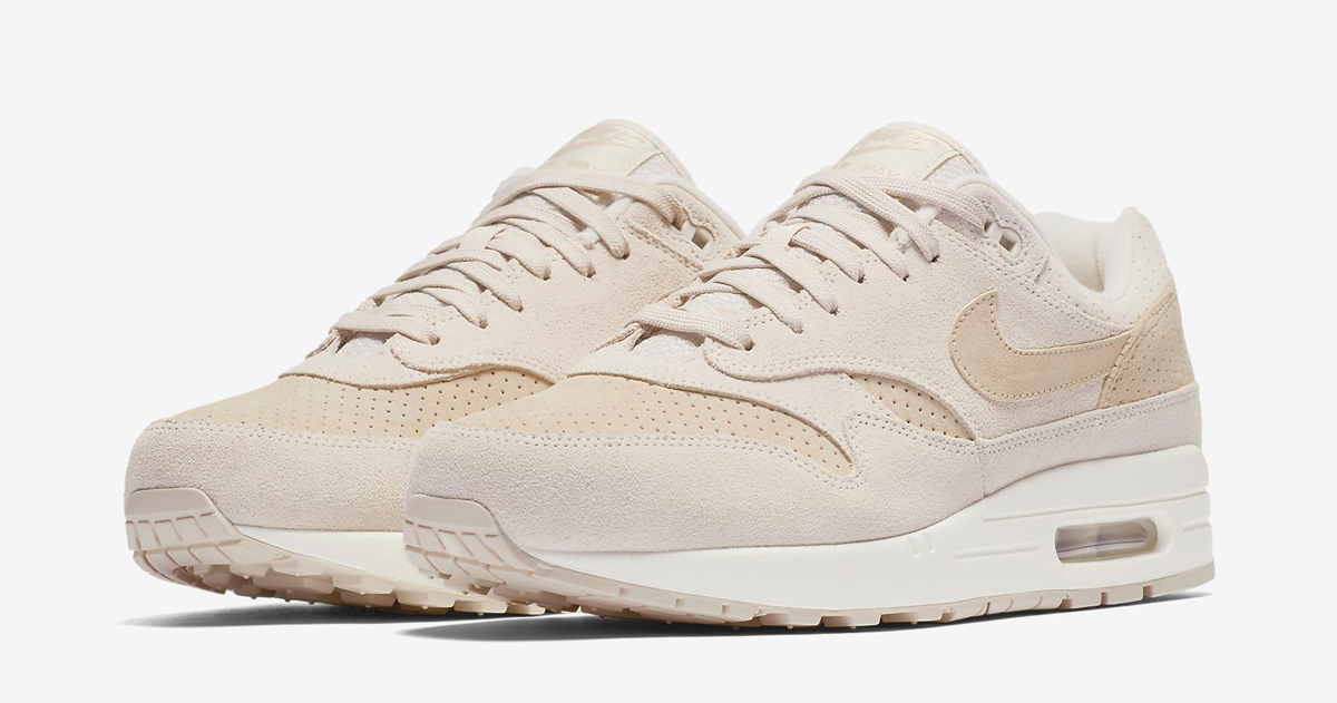 Available now // Nike Air Max 1 Premium 'Desert Sand'