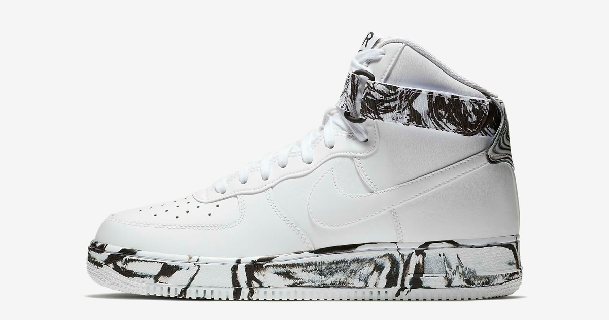 Available now // Nike Air Force 1 High 'Marble'