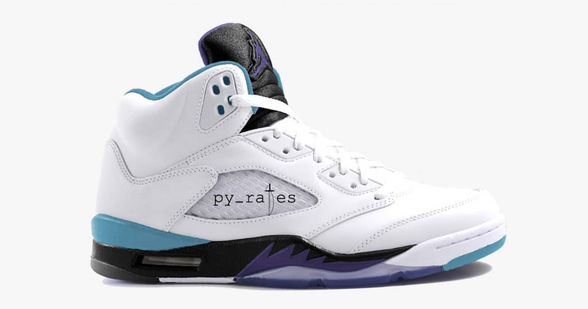 "We're getting another new ""Grape"" Air Jordan 5"