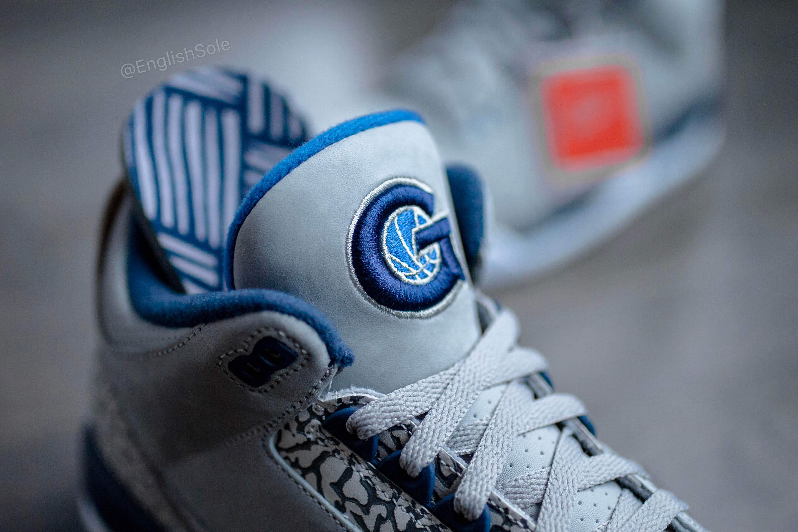 A detailed look at the rare Georgetown and UNC Air Jordan 3 PEs