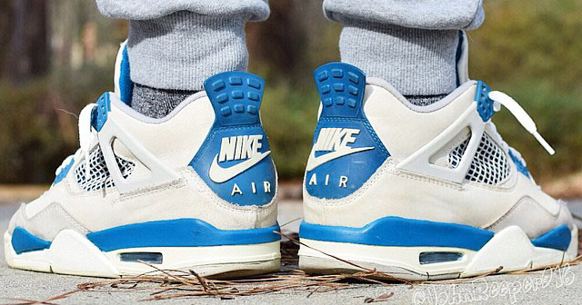 "Rumor has it // Air Jordan 4 OG ""Military Blue"" returning in 2019"