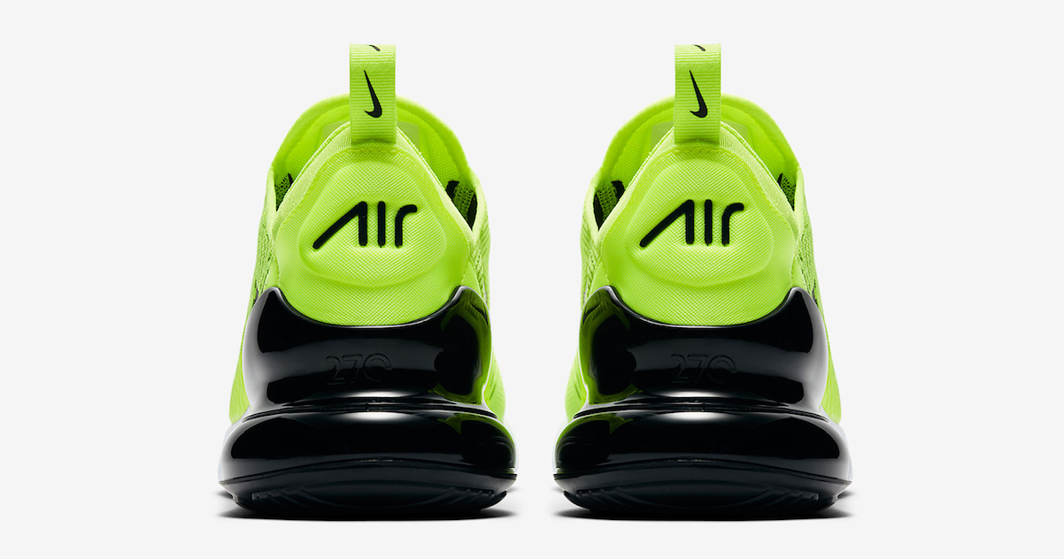 Available now // Nike Air Max 270 'Volt'