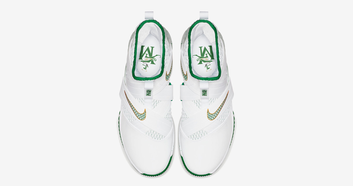 LeBron nods his High School with this latest Solder 12