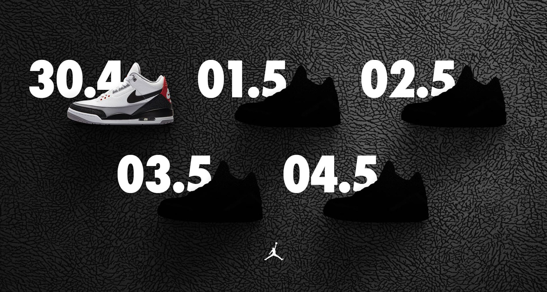 Jordan's Week of Threes continues today
