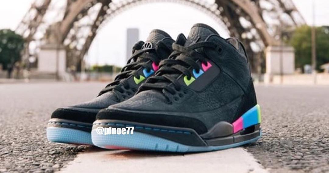 "First Look // Air Jordan 3 ""Quai 54"""