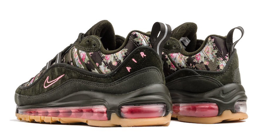 "Available now // Nike Air Max 98 ""Sequoia"""