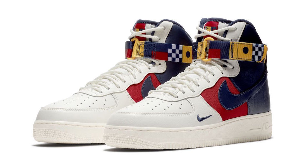 The Air Force 1 goes Nautical