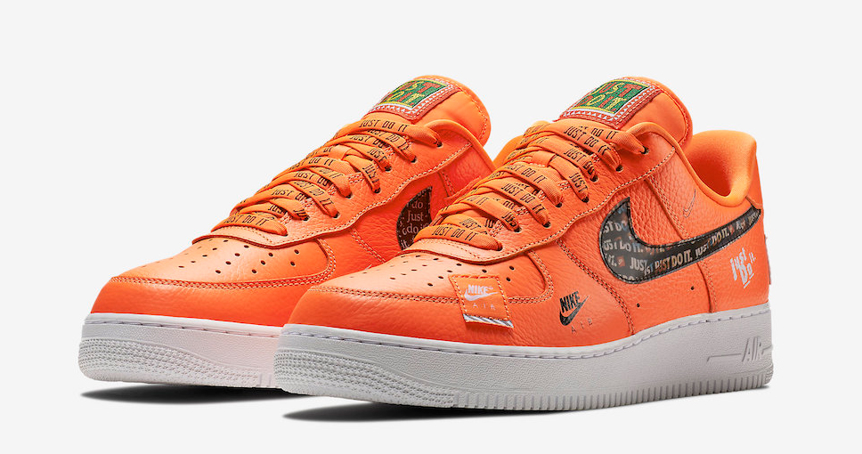"""Official images // Air Force 1 Low """"Just Do It"""""""