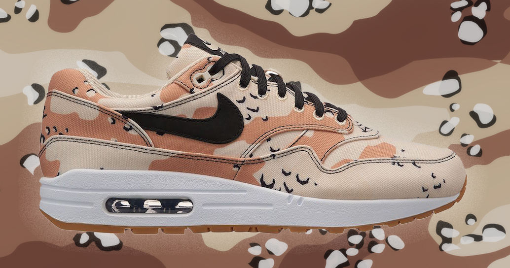 A classic camo hits the Air Max 1