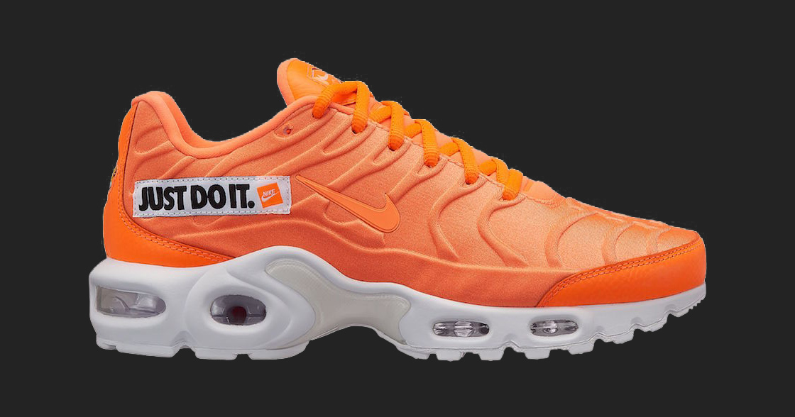 """Nike add the Air Max Plus to it's ever-growing """"Just Do It"""" collection"""