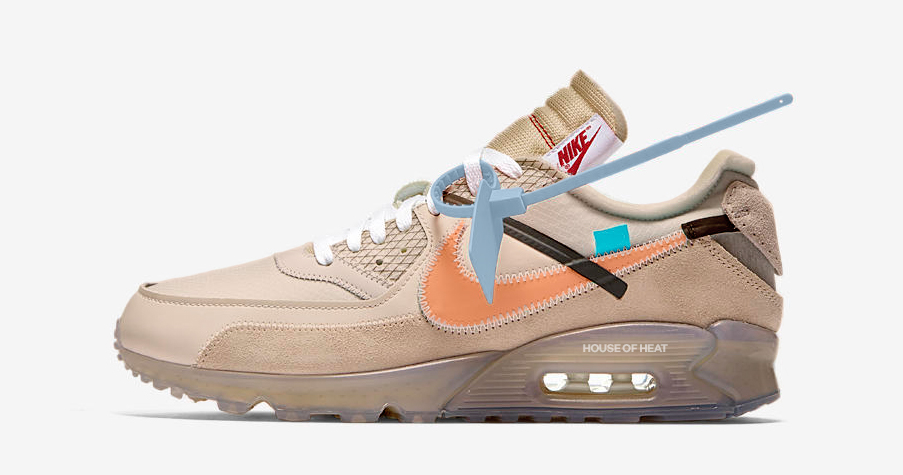 """This year's Off-White Air Max 90 comes in """"Desert Ore"""""""