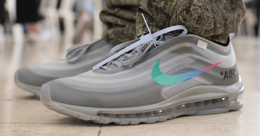 A first look at this year's Off-White Air Max 97s
