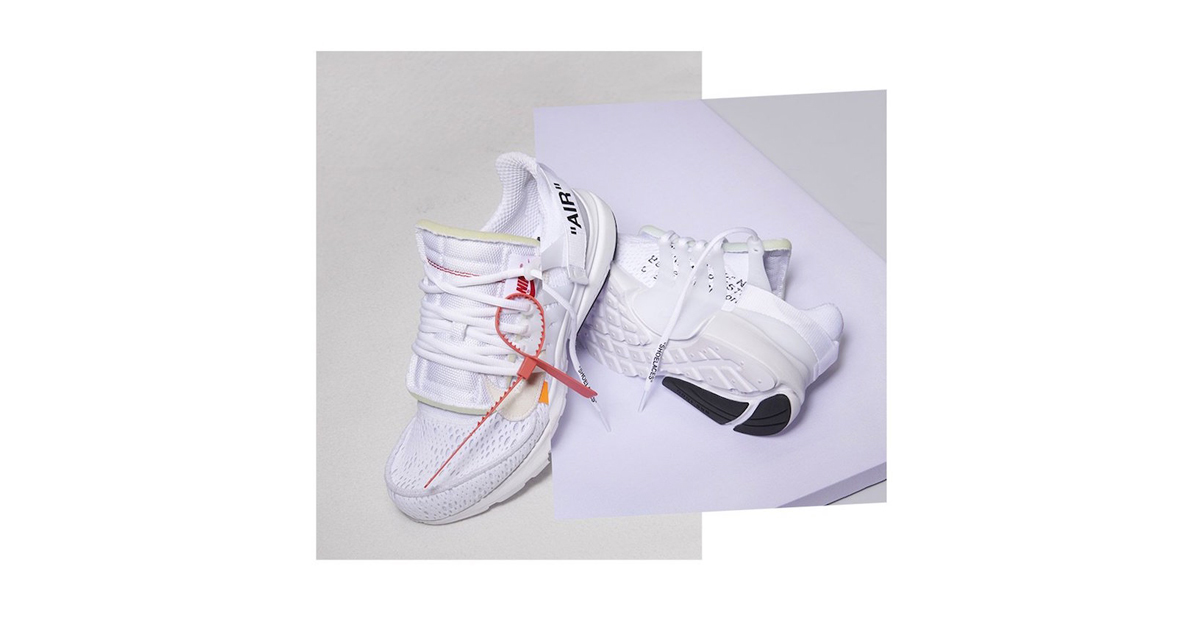 Release dates for 2018's Off-White x Nike Prestos