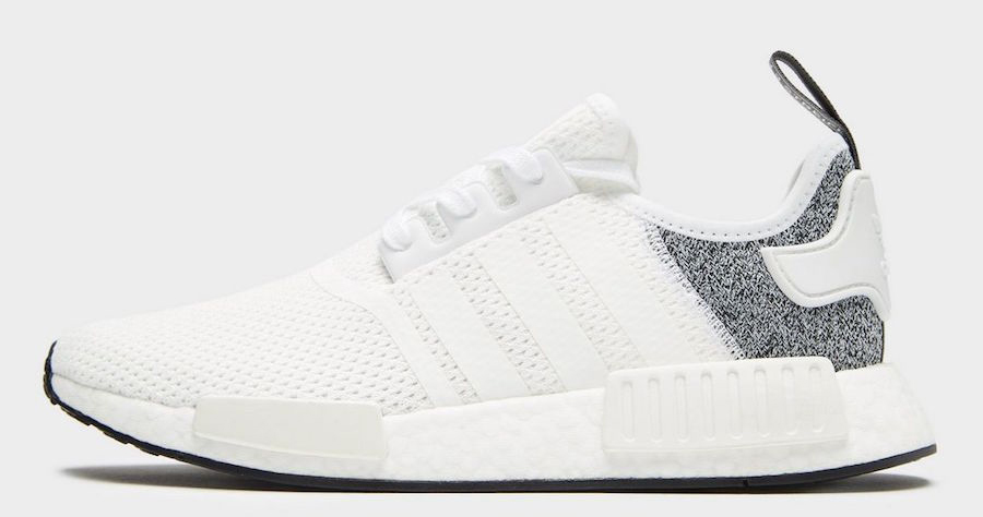 This JD Sports-exclusive NMD is white hot