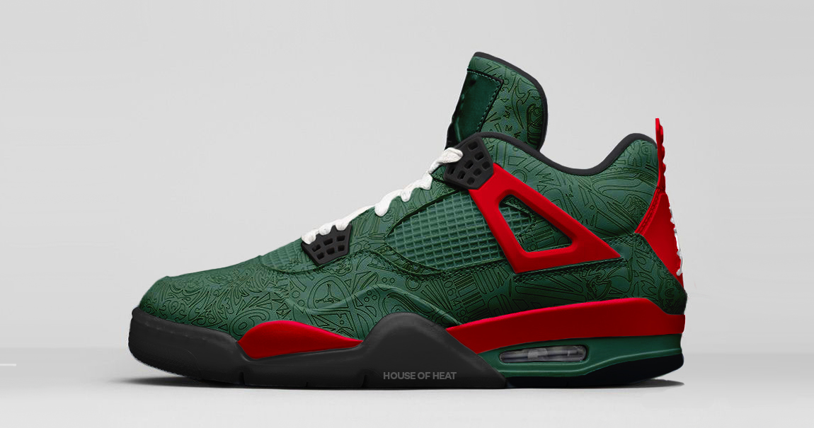 "This ""Gucci"" Laser Jordan 4 is rumored to drop next year"