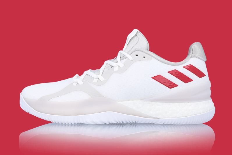 "Available now // adidas Crazy Light Boost ""Scarlett"""