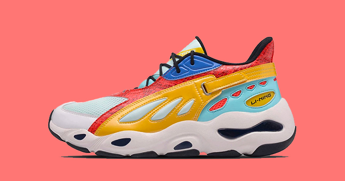 Available now // Li-Ning drop that Wave Runner drip