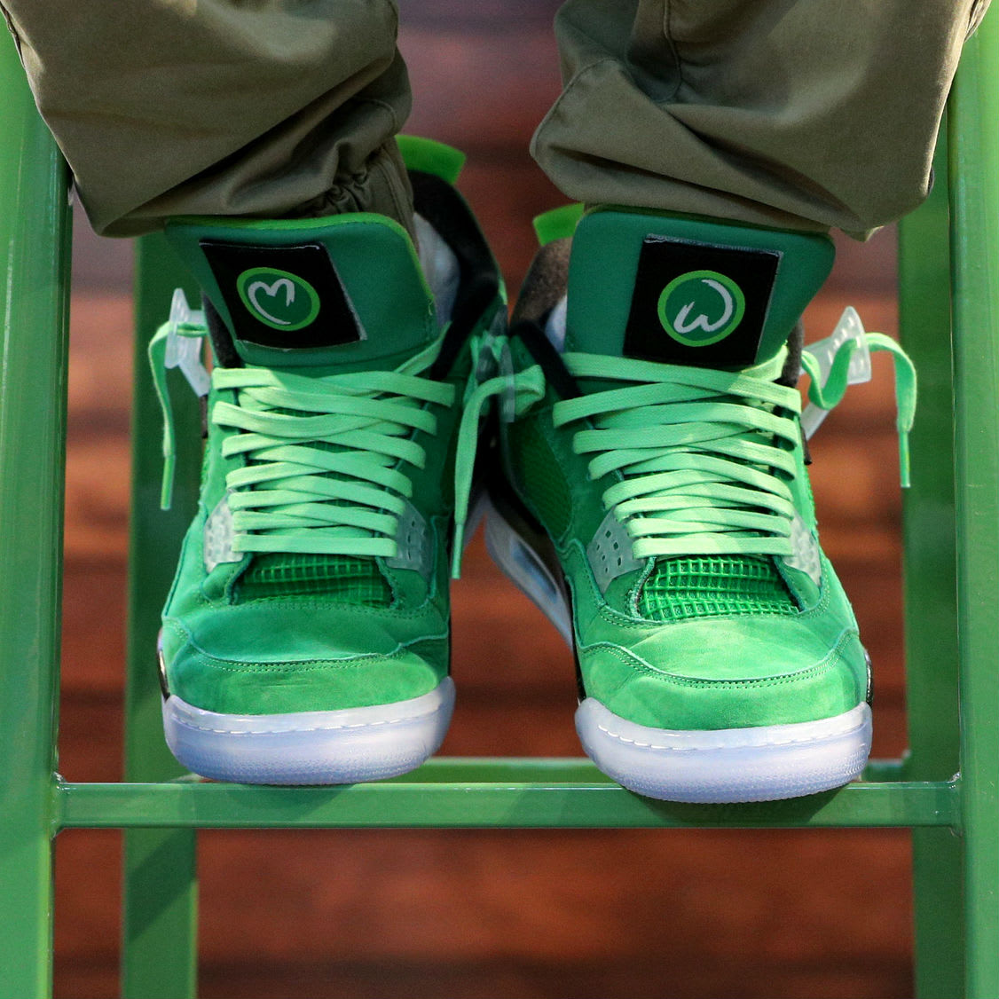"""Here's How You Can Get a Pair of Mark Wahlberg's """"Wahlburger"""" Air Jordan 4s"""