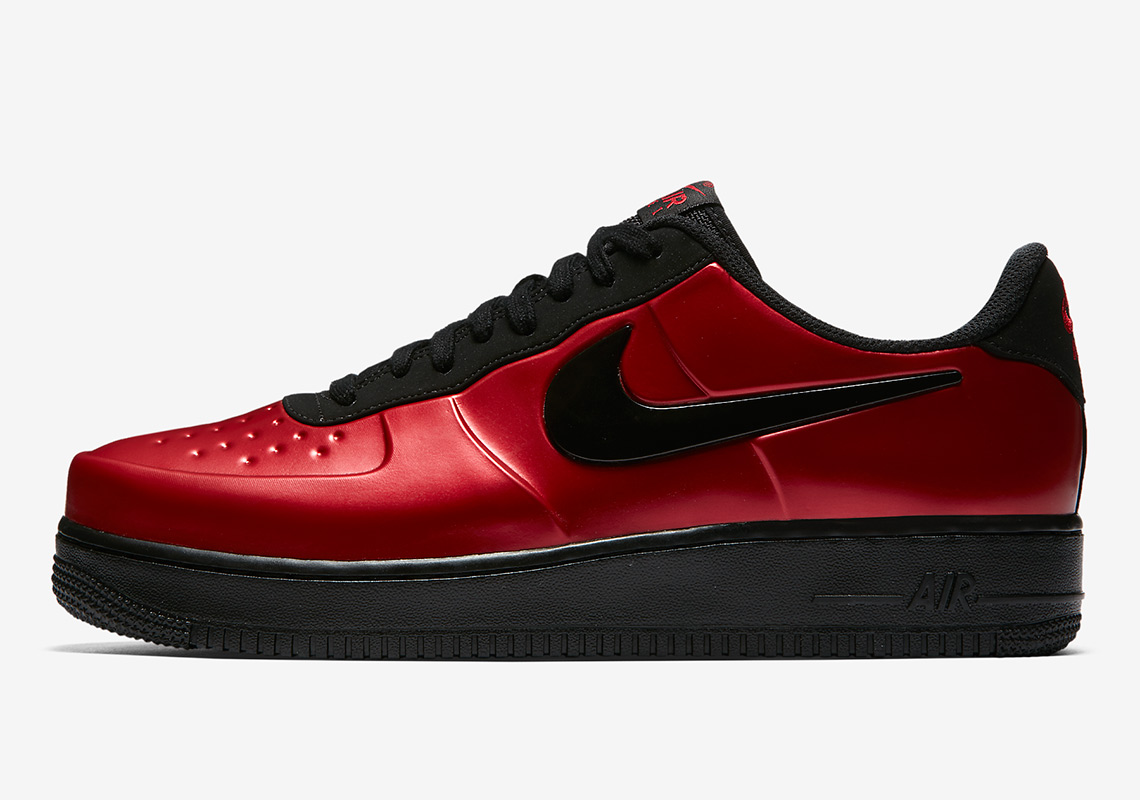 Nike's Air Force 1 Low Foamposite goes Bred